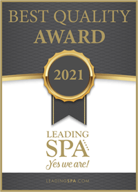 Best Quality Award 2021 - Leading SPA Awards